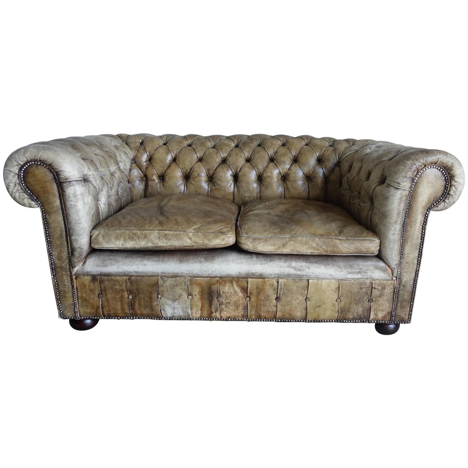 english chesterfield leather sofa circa 1900. Interior Design Ideas. Home Design Ideas