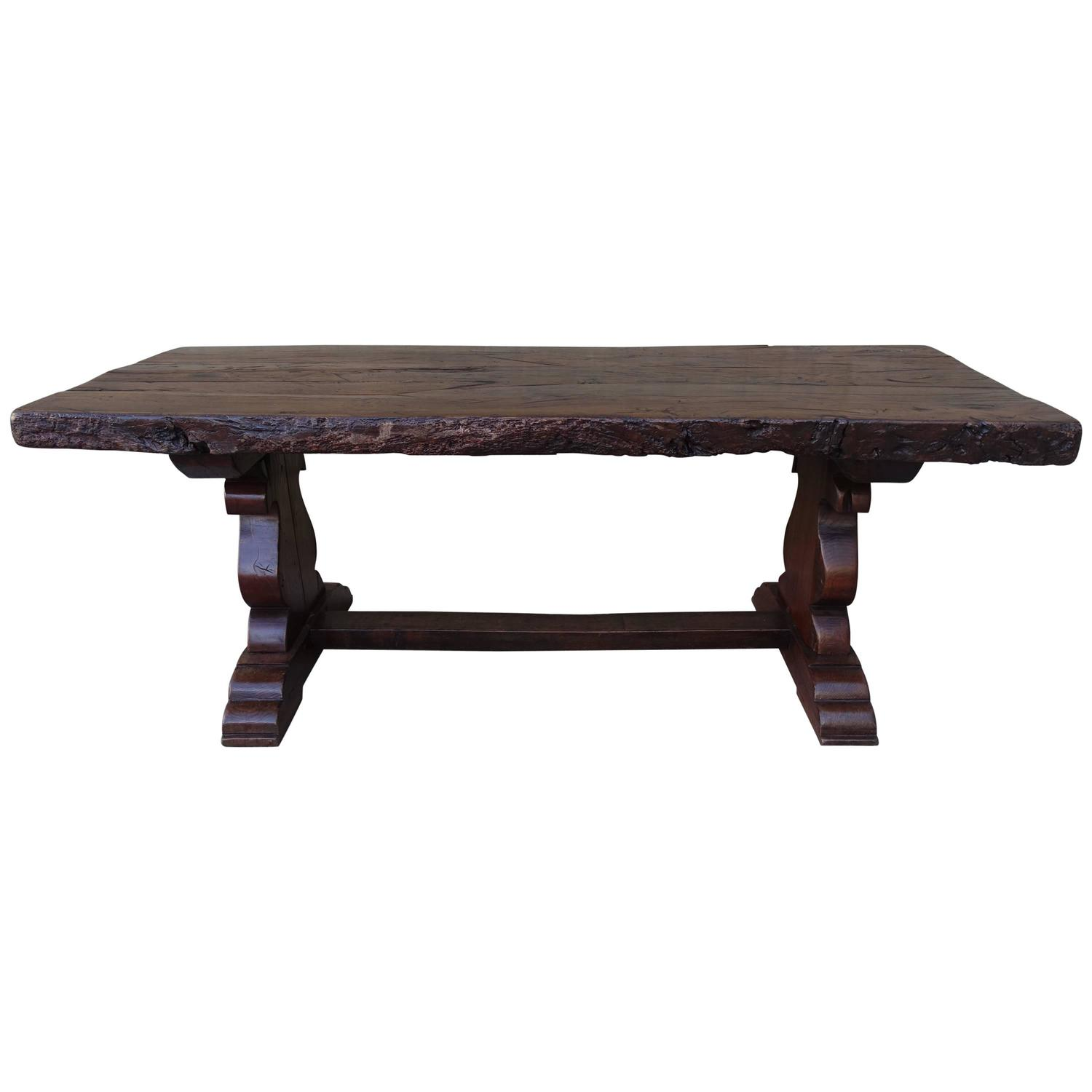18th Century Spanish Trestle Table