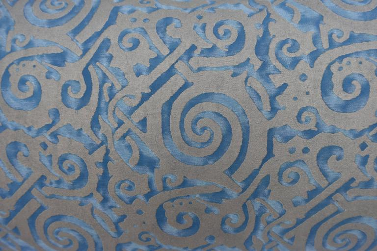 Pair of Maori Patterned Fortuny Pillows