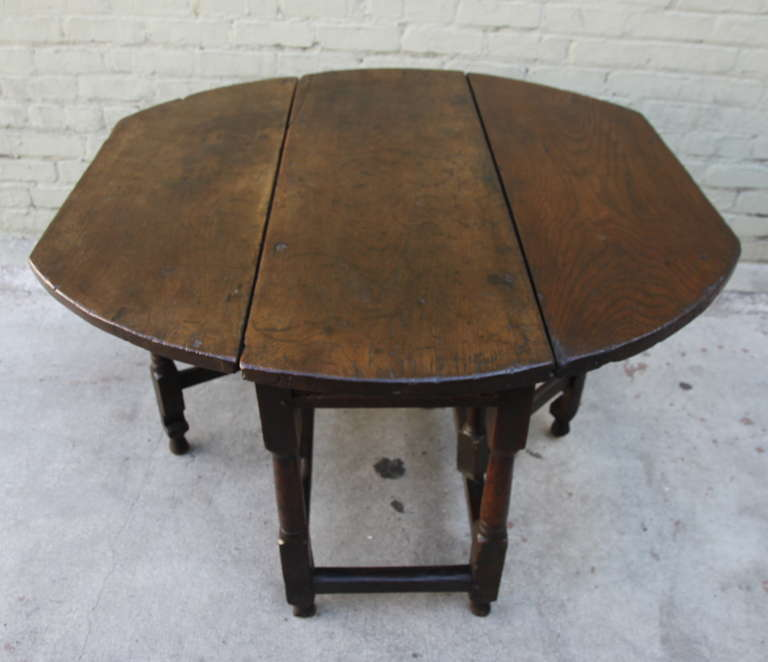 Th Century English Walnut Gateleg Table Melissa Levinson Antiques - Antique gateleg tables