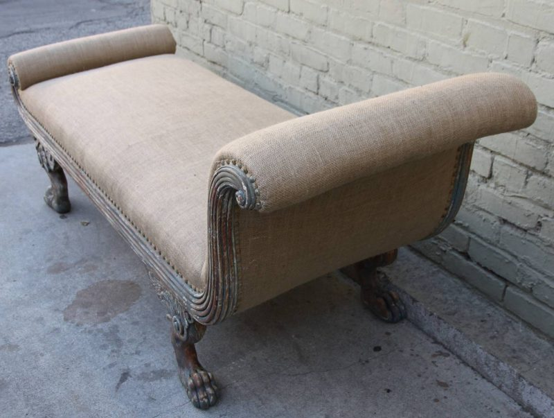 American Painted Chaise C. 1920