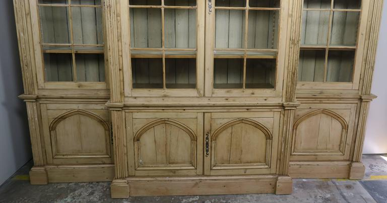 pine claverton i furniture barn reclaimed bookcase with cupboard