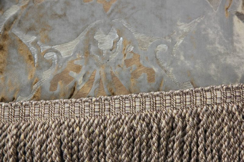 Custom Nomi Stenciled Throw with Fringe