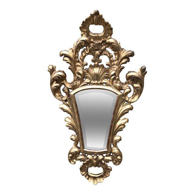 Italian Giltwood Mirror@