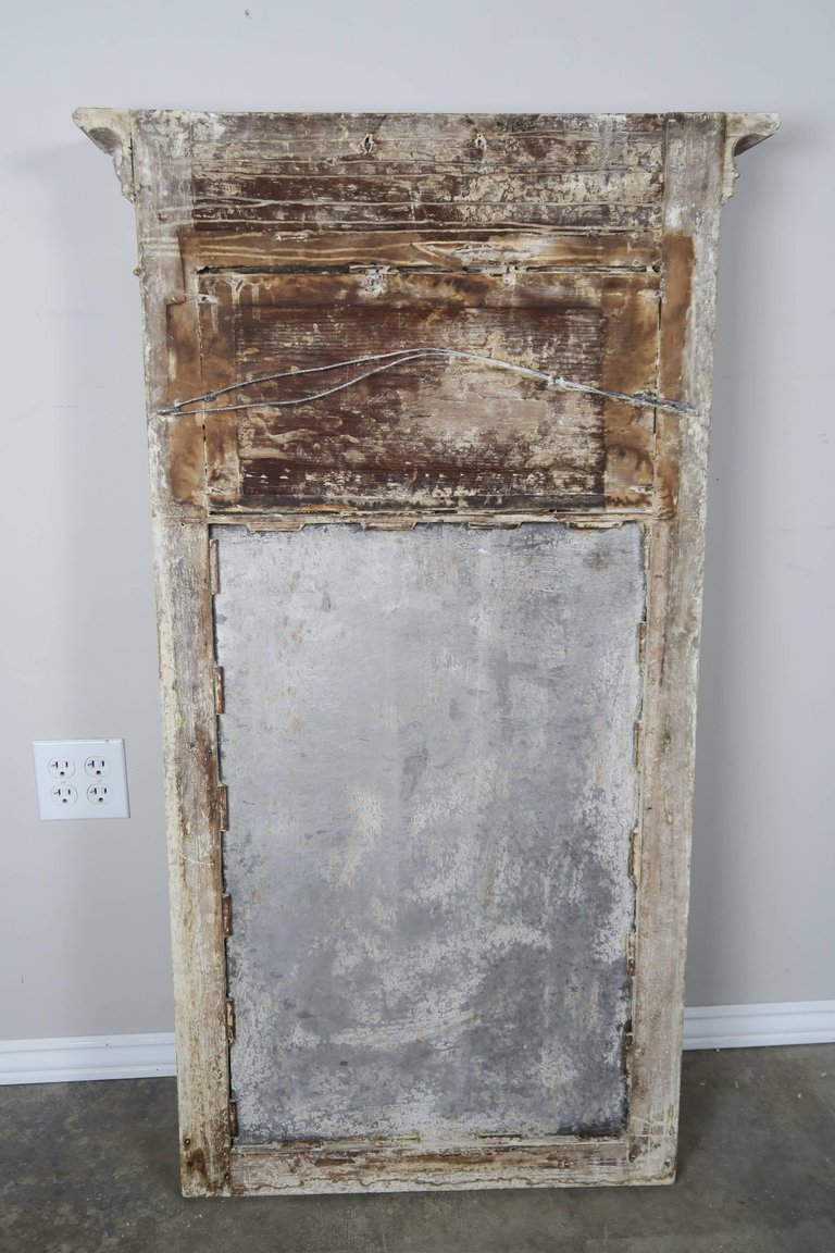 19th Century American Painted Federal Mirror6