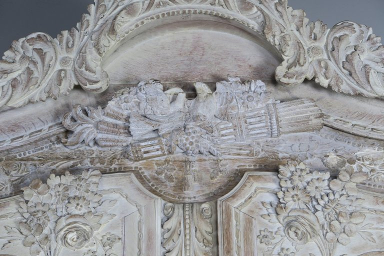 19th Century, French Louis XV Style Armoire4