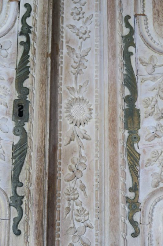 19th Century, French Louis XV Style Armoire6