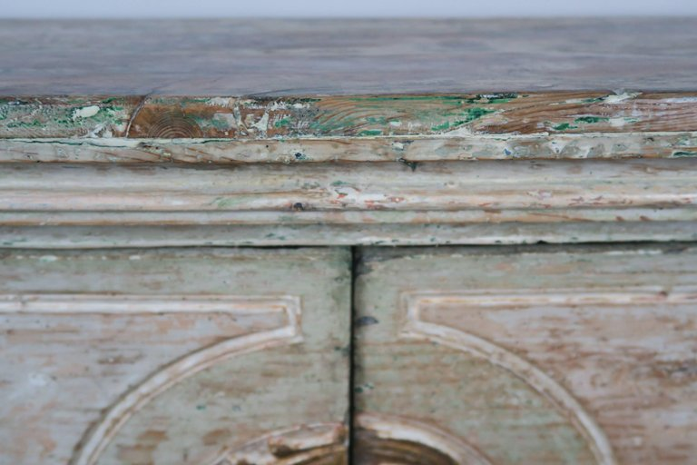 19th Century Italian Painted and Parcel-Gilt Console 5