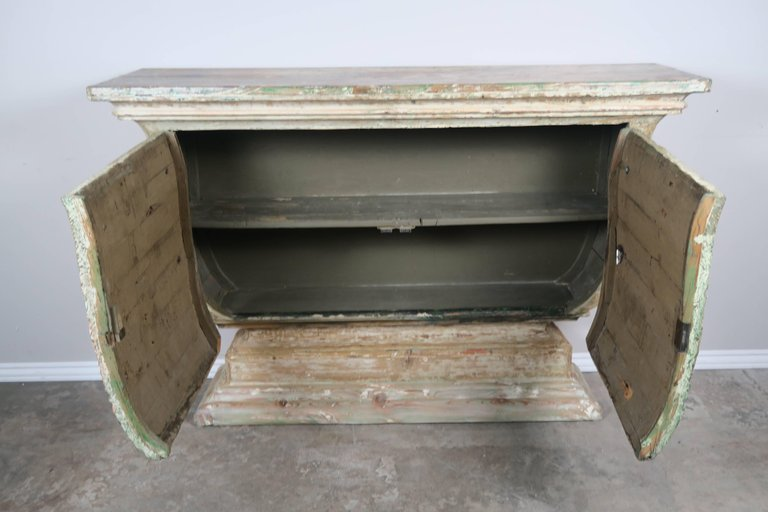 19th Century Italian Painted and Parcel-Gilt Console 7