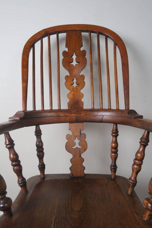 Set of Eight 19th Century English Windsor Armchairs4