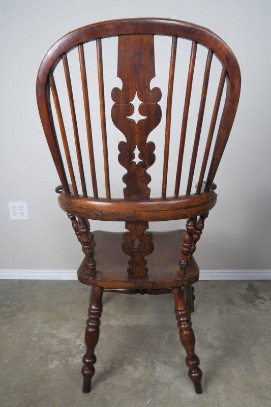 Set of Eight 19th Century English Windsor Armchairs7