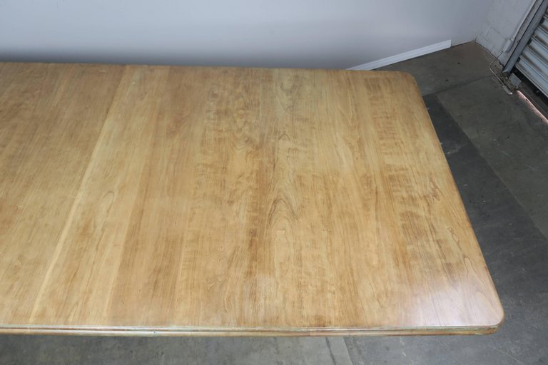 Italian Carved and Painted Dining Room Table, circa 1930s $12,000 8