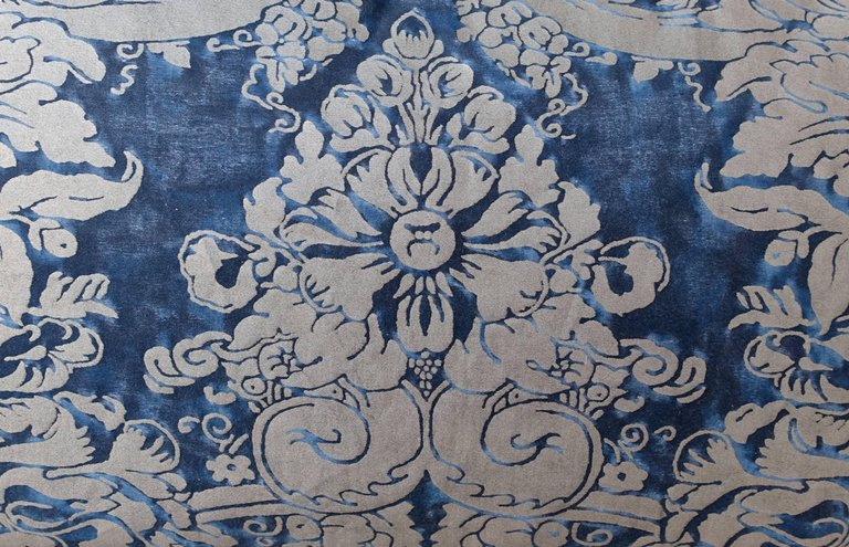 Pair of Dandola Patterned Fortuny Pillows 1