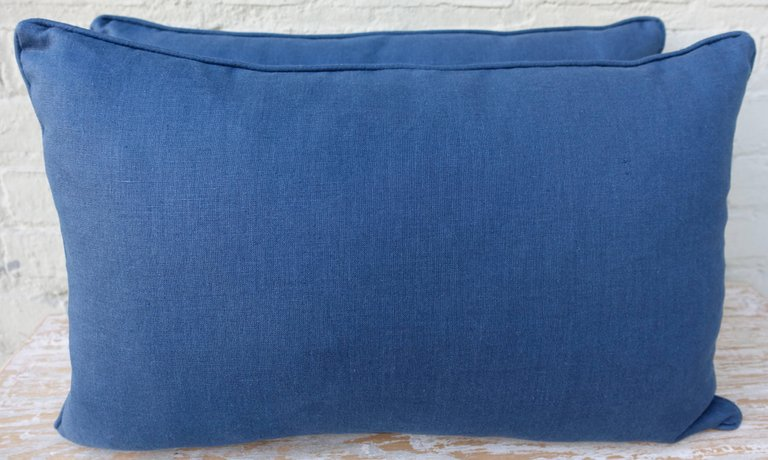 Pair of Dandola Patterned Fortuny Pillows 5