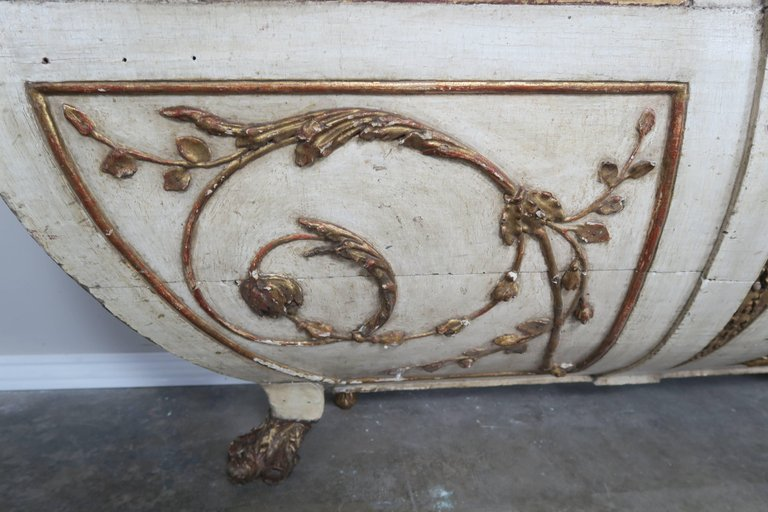 19th Century Italian Painted and Parcel-Gilt Consoles, Pair 7