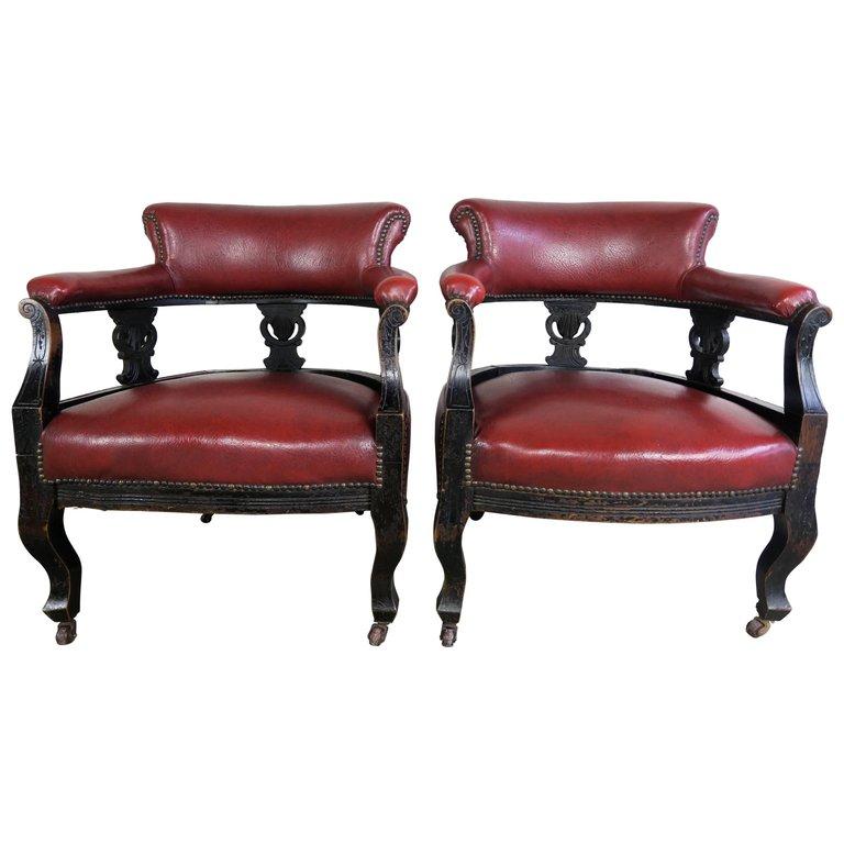 19th Century Victorian Antique Chairs – A Pair - 19th Century Victorian Antique Chairs - A Pair Melissa Levinson