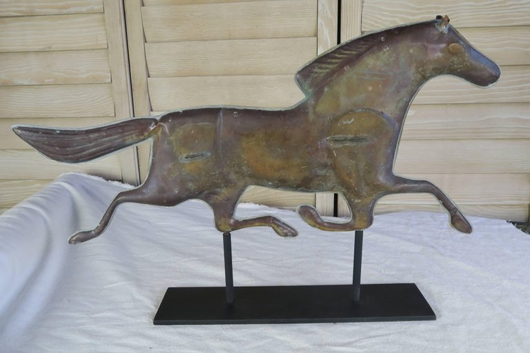 Dexter Horse Weather Vane on Iron Base 4