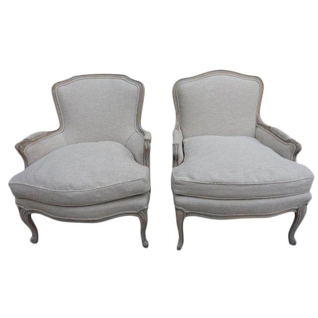 1940s French Bergere Chairs U2013 A Pair