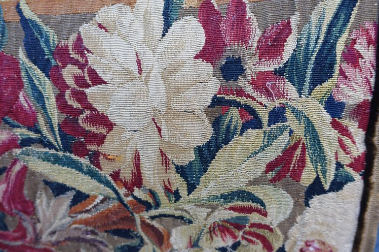 Pair of 17th Century Flemish Tapestry Pillows 2