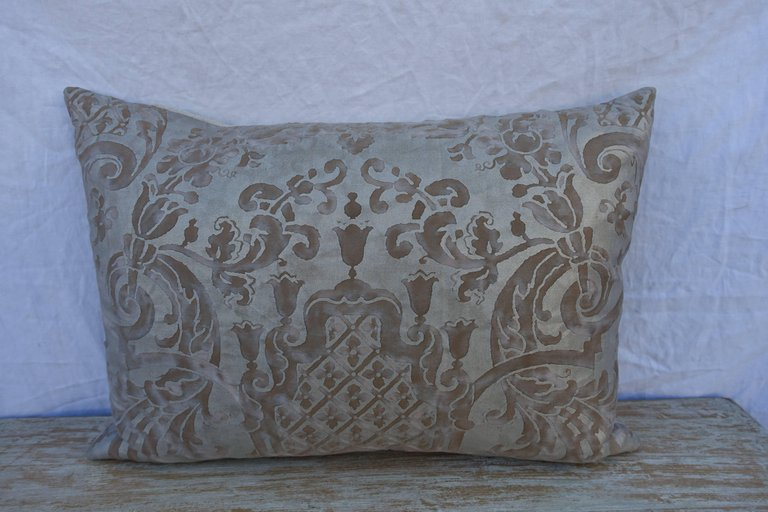 Pair of Carnavalet Fortuny Patterned Pillows