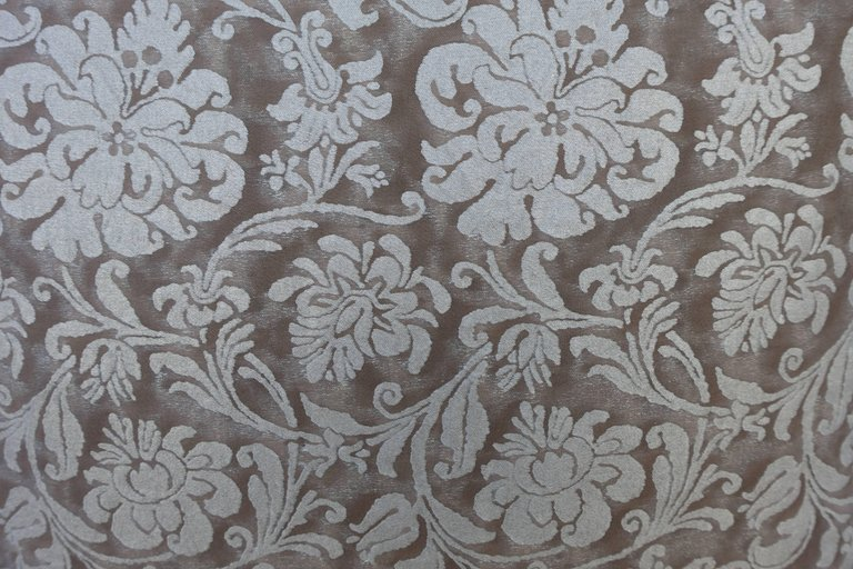 Pair of Italian Fortuny Cimarosa Patterned Pillows 1