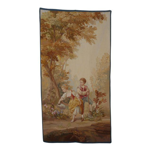 19th-century-antique-aubusson-tapestry-of-young-couple-5900