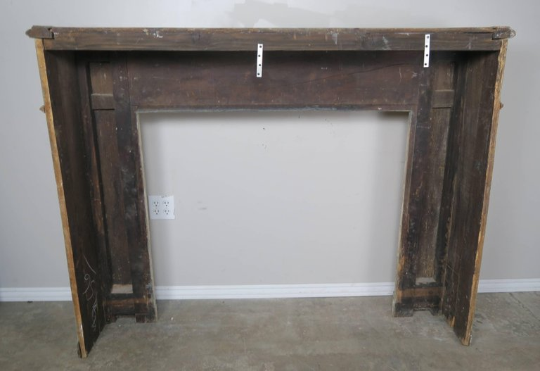 19th Century Italian Painted and Parcel-Gilt Fireplace Mantel7