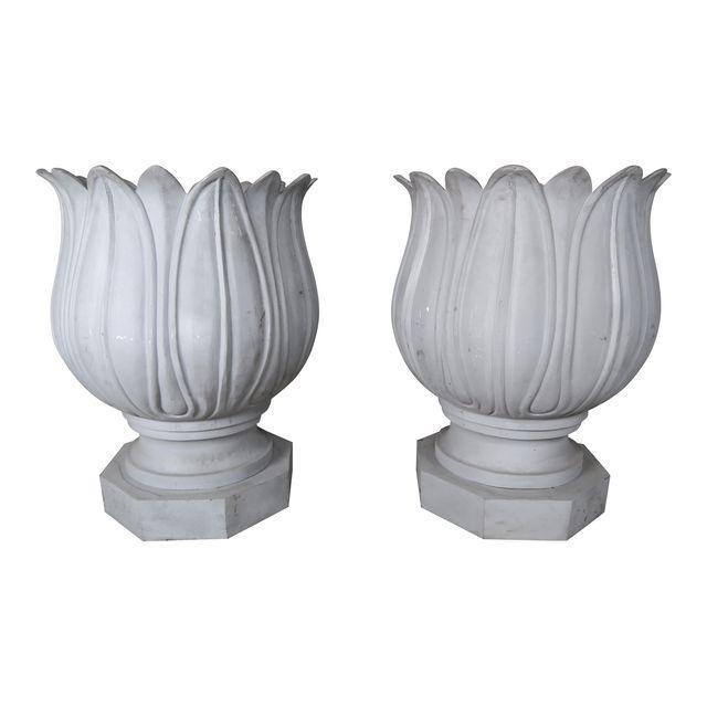 large-metal-flower-planters-a-pair-7766