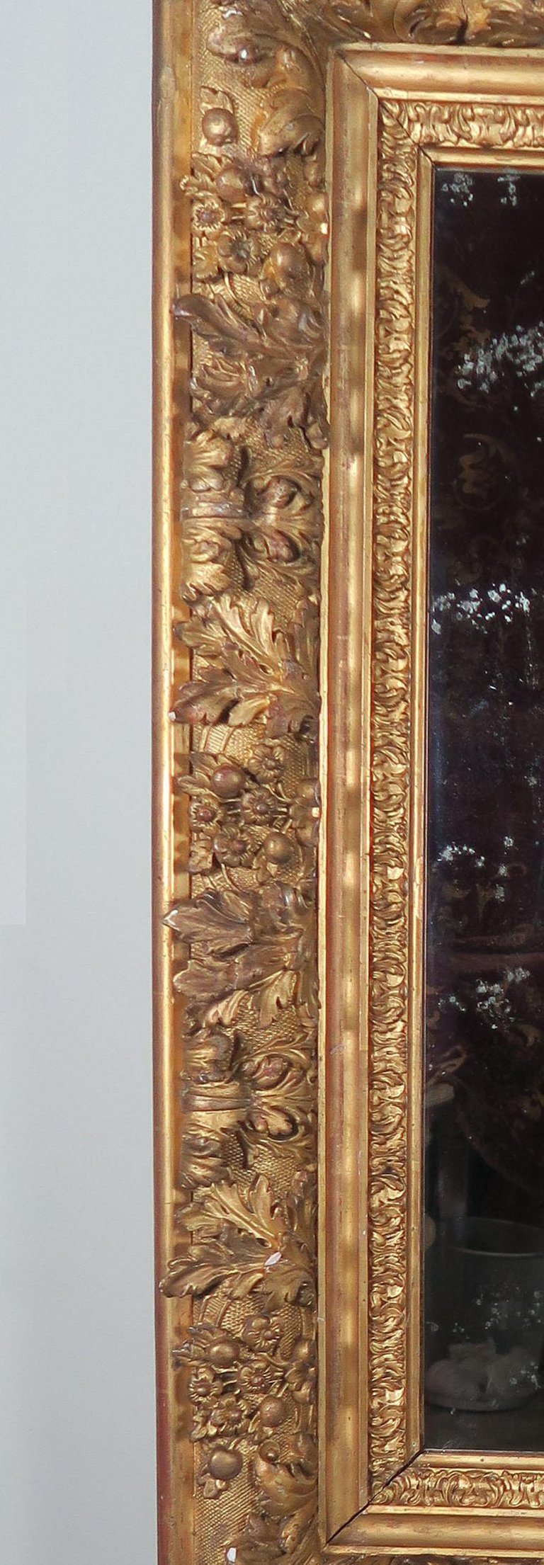 18th Century French Carved Louis XIV Style Mirror4