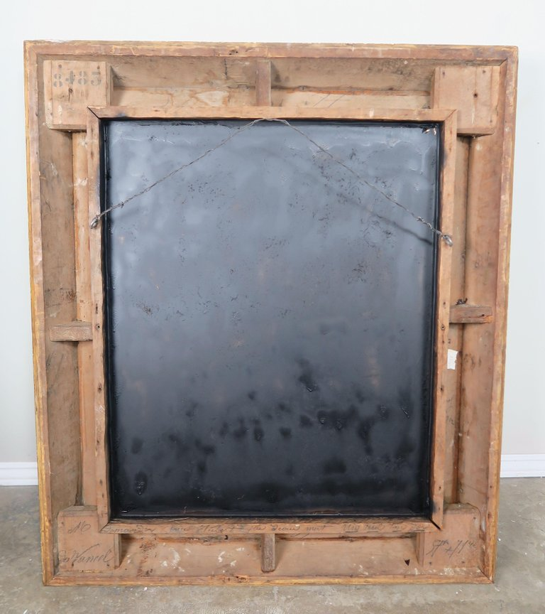 18th Century French Carved Louis XIV Style Mirror7
