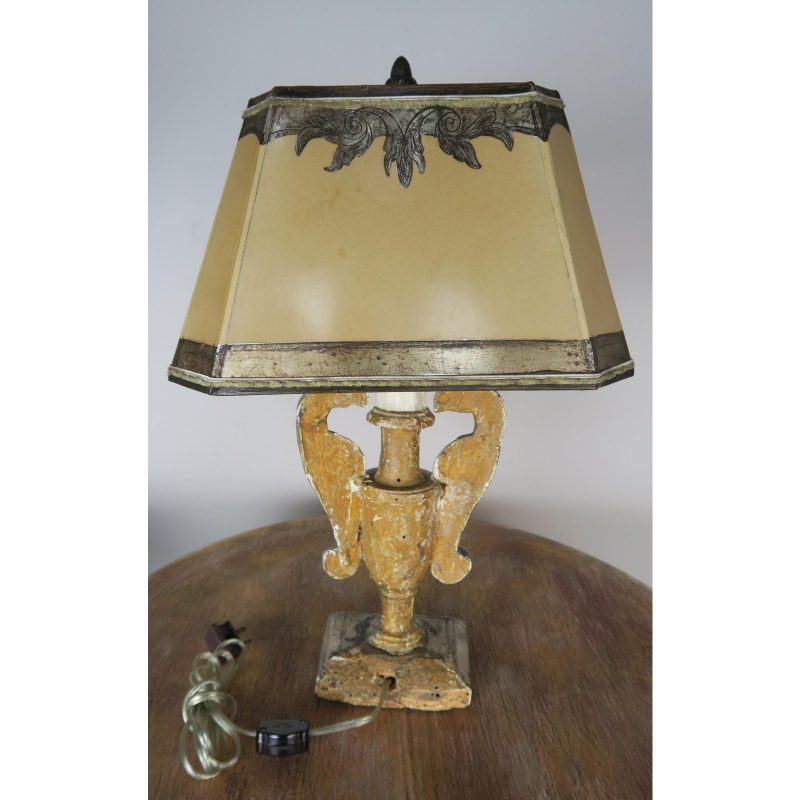 19th-c-silver-gilt-lamp-with-hand-painted-shade-1119