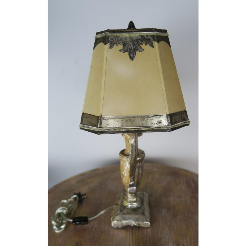 19th-c-silver-gilt-lamp-with-hand-painted-shade-9568