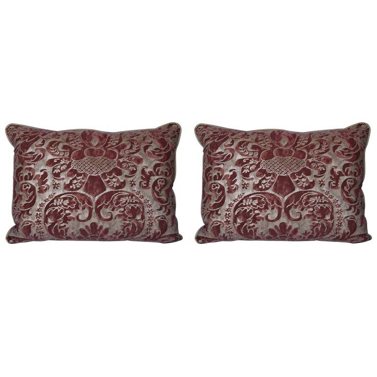 Pair of Caravaggio Fortuny Pillows $1,250per set25% Off $937per set