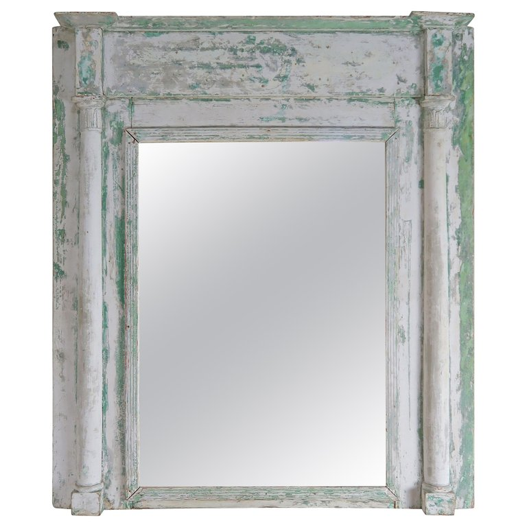 19th Century Swedish Painted Mirror $1,800