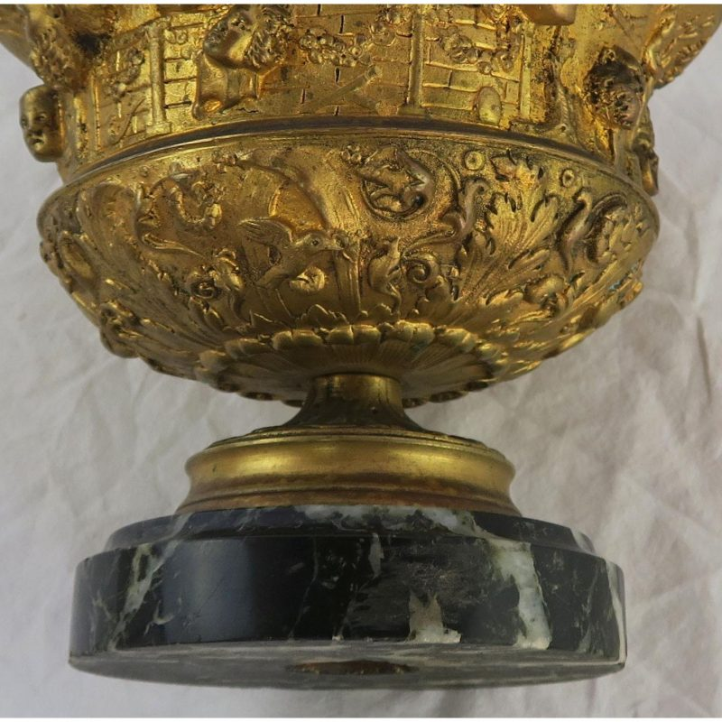 19th-c-bronze-tazza-on-marble-base-1010