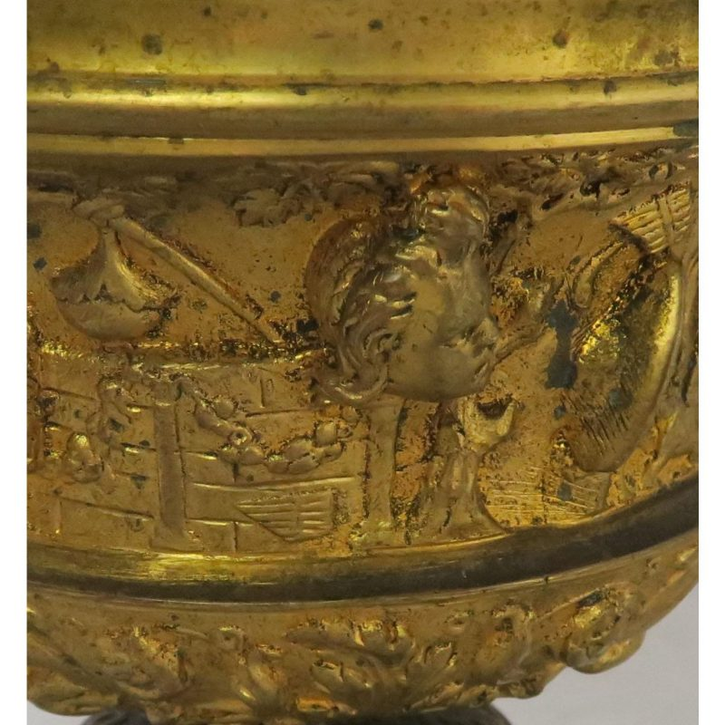 19th-c-bronze-tazza-on-marble-base-2871