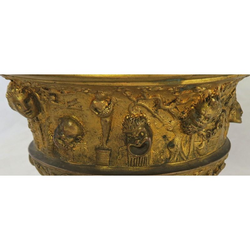19th-c-bronze-tazza-on-marble-base-6192