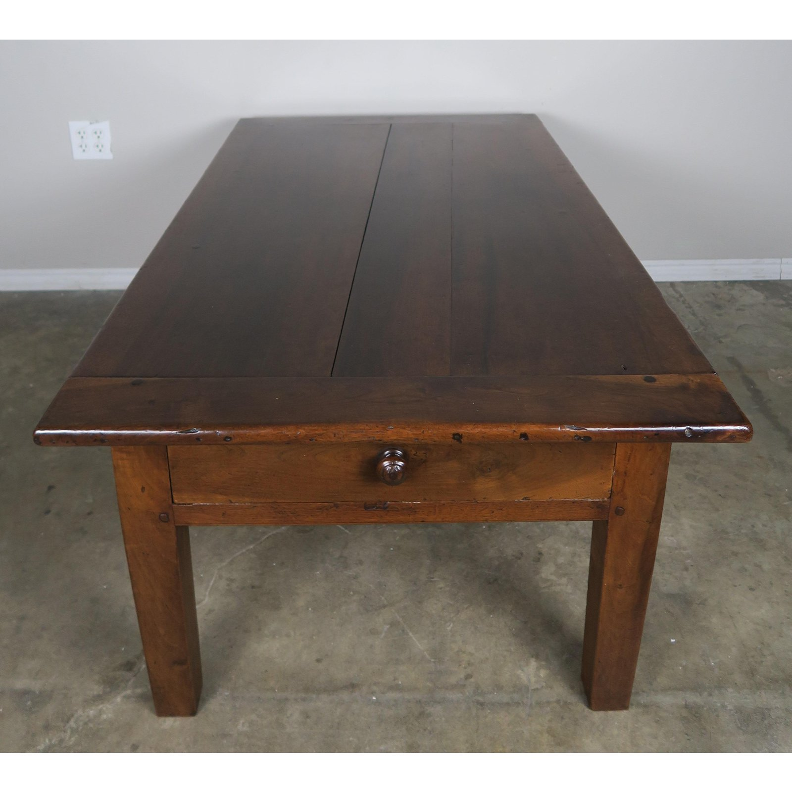 Buy Coffee Table With Drawers: 19th Century English Walnut Coffee Table With Drawers