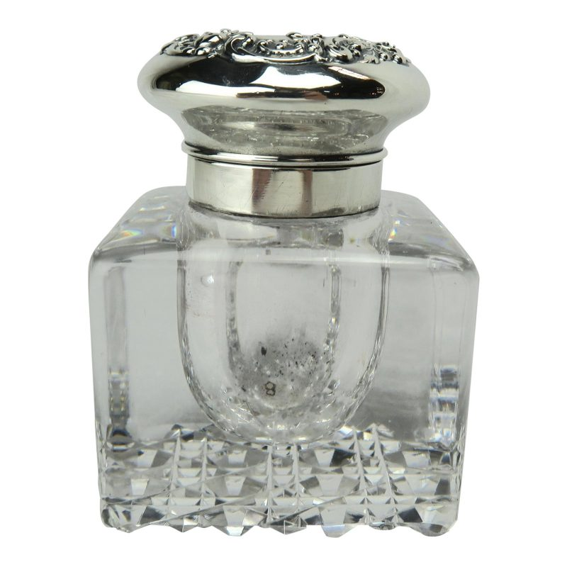 gorham-crystal-inkwell-with-sterling-lid-9955