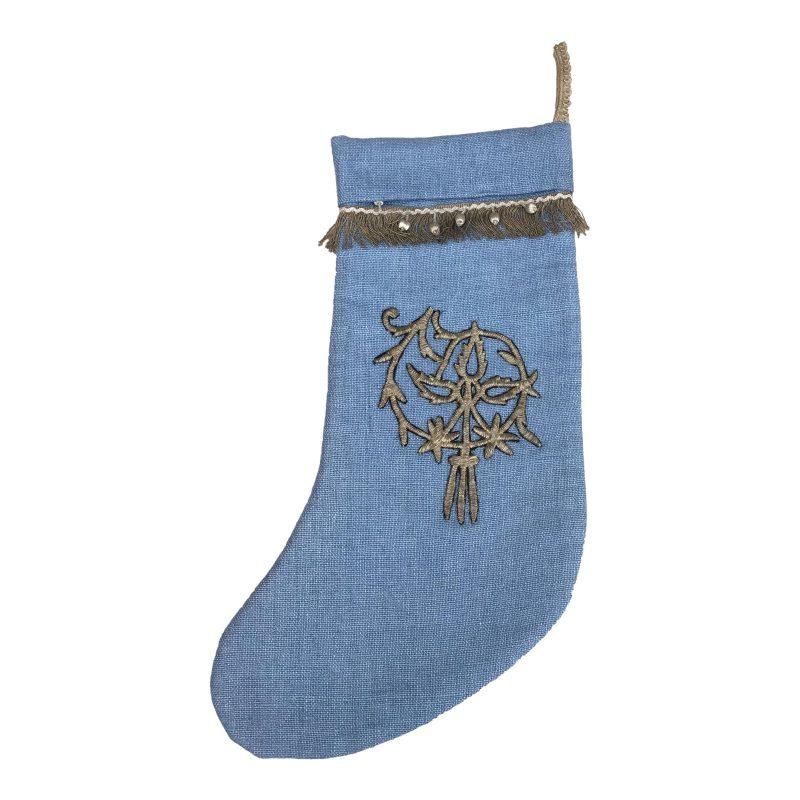 metallic-applique-christmas-stocking-8865