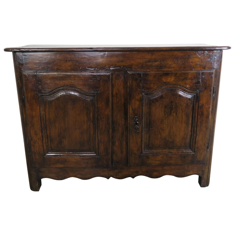 18th Century, French Walnut Buffet $6,800