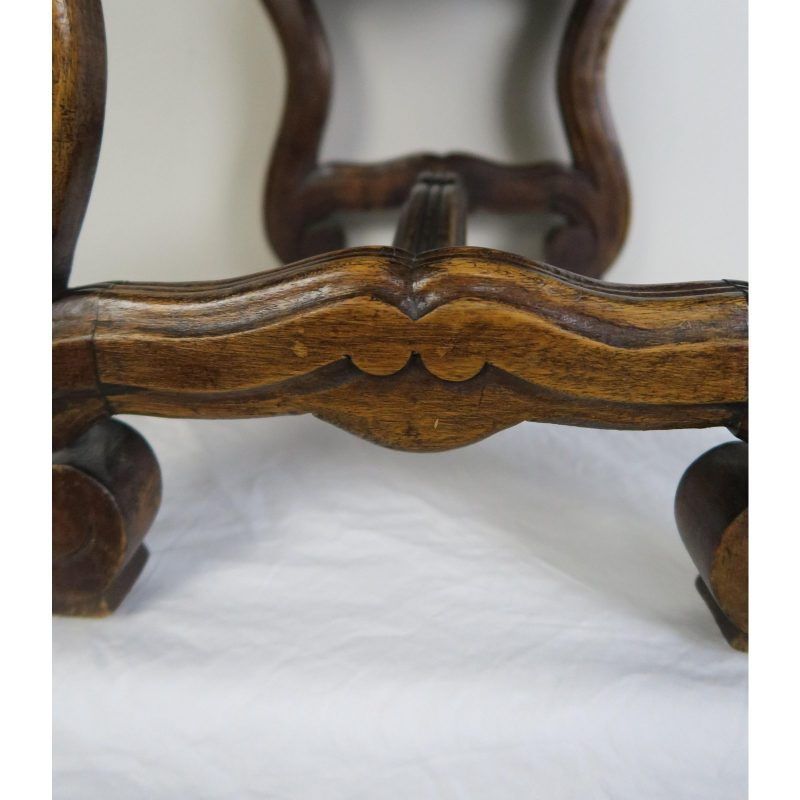 spanish-walnut-bench-w-paisley-upholstery-c-1940-9292