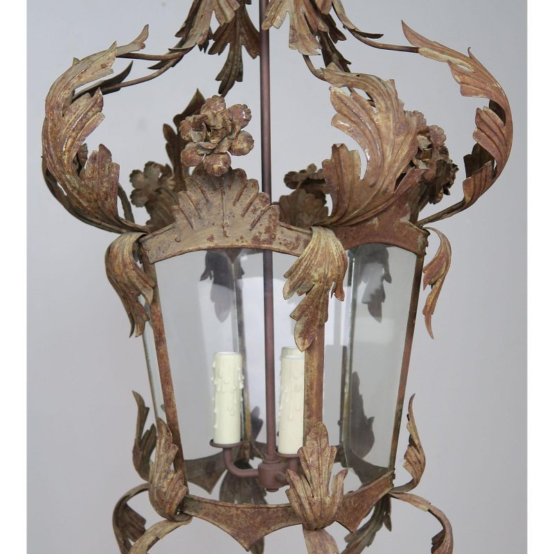spanish-wrought-iron-lantern-c-1940s-0200