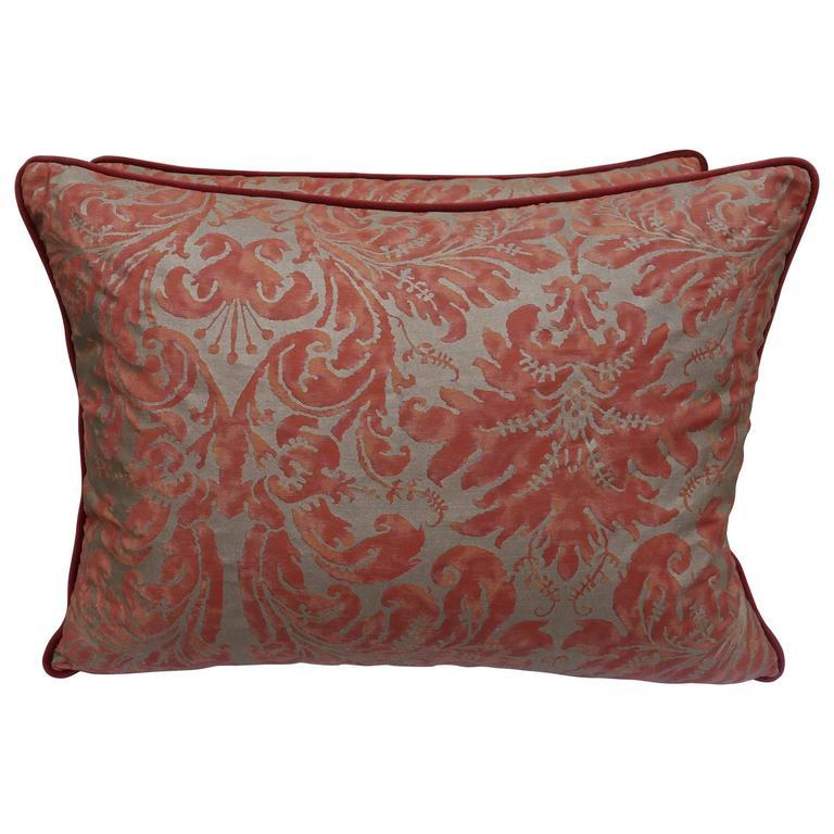 Pair of Lucrezia Fortuny Textile Pillows $795