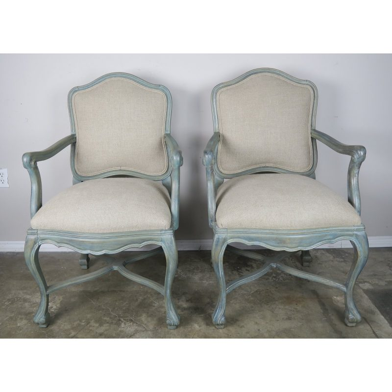 pair-of-painted-swedish-style-armchairs-w-linen-upholstery-6246