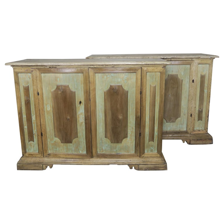 Early 19th Century Italian Painted Sideboards