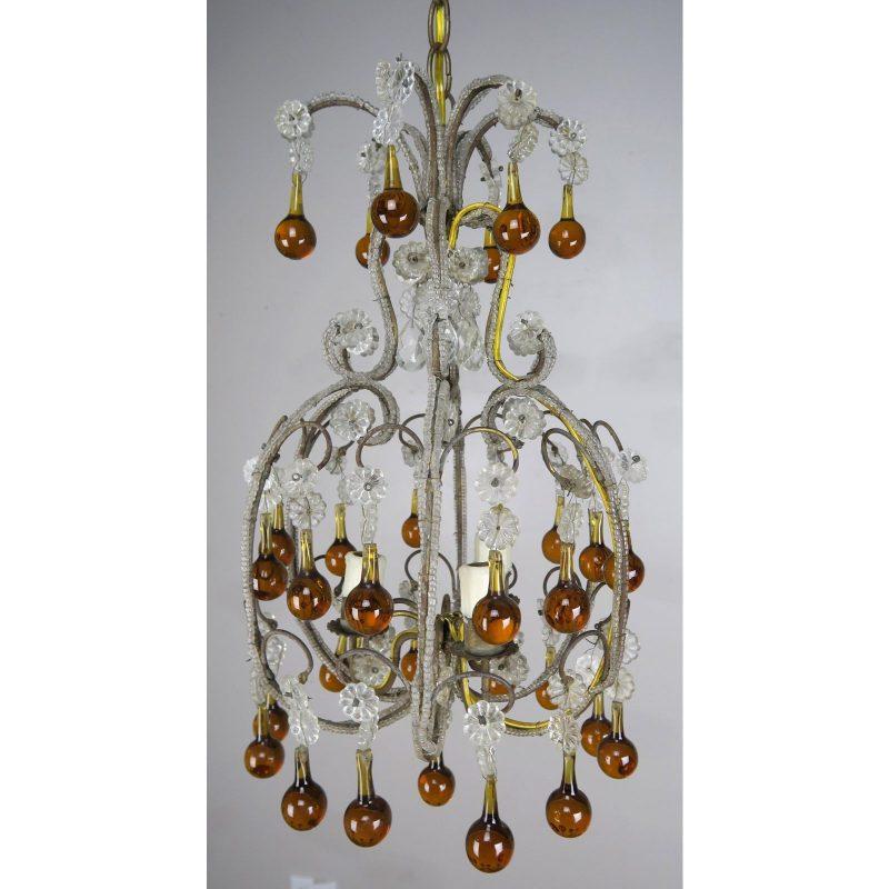 amber-drop-crystal-beaded-chandelier-0779