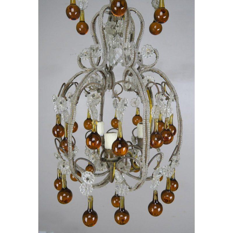 amber-drop-crystal-beaded-chandelier-4881