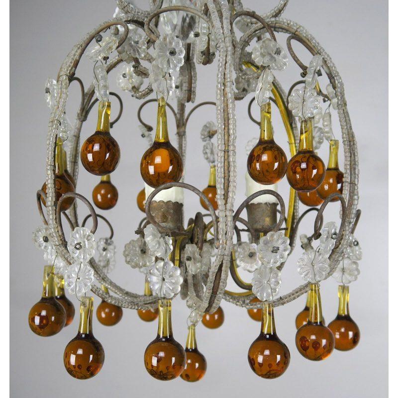 amber-drop-crystal-beaded-chandelier-6410
