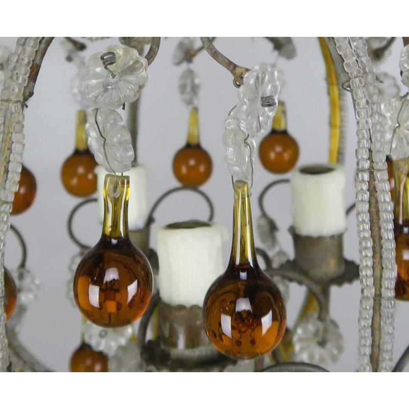 amber-drop-crystal-beaded-chandelier-8066
